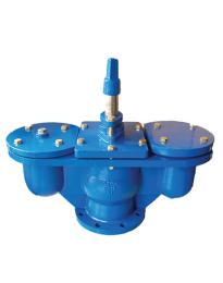 Double Air ValveWith Piston